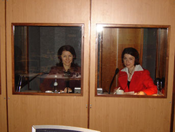 Interpreting booths