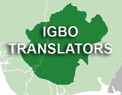 Igbo translator | Igbo interpreter | Translation Services from