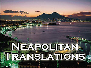 Neapolitan translators and interpreters