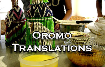 Oromo translators and interpreters
