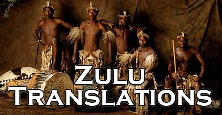 Zulu translators and interpreters